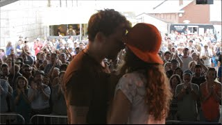 Christopher Paul Stelling ~ Proposal at the Newport Folk Festival!