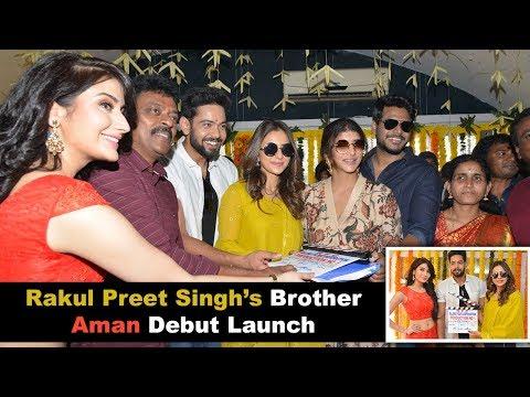 Debut Launch of Rakul Preet Singh's Brother Aman