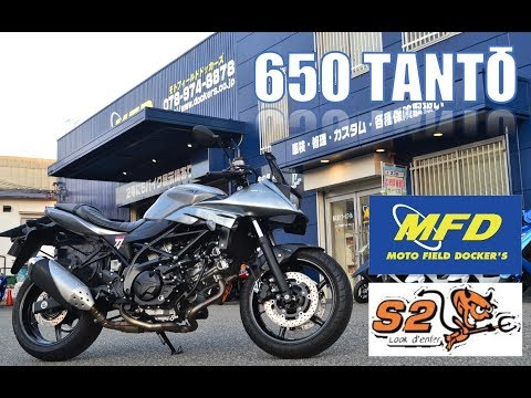 SV650X/スズキ 650cc 兵庫県 モトフィールドドッカーズ 神戸店 【MFD神戸店】