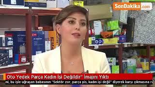 """Aloparça'nın Kurucusu Ebru Özülkü """"Oto Yedek Parça Kadın Işi Değildir"""" Imajını Yıktı."""