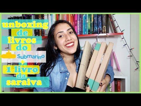 ?UNBOXING DE LIVROS| SUBMARINO +1 da saraiva | Leticia Ferfer | Livro Livro Meu?
