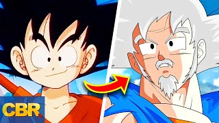 The Evolution Of Goku From Dragon Ball