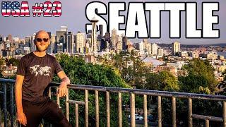 Kolejne problemy z kamperem i wizyta w Seattle – Kamperem po USA #23