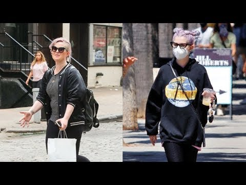 Kelly Osbourne Shows Off 85 Lb. Weight Loss While Rocking Leggings For L.A. Outing: See Before & Aft