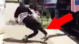 Bizarre puppet or medical freak: Strange creature walks and drives down New Jersey street- TomoNews