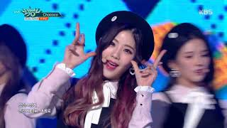 뮤직뱅크 Music Bank - Chococo - 구구단 (Chococo - gugudan).20171124
