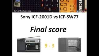 Sony ICF-2001D Vs ICF-SW77: The Final Score And Conclusions