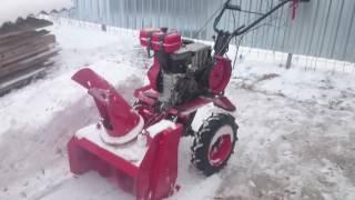 Обзор снегоуборщика для мотоблока ОКА видео