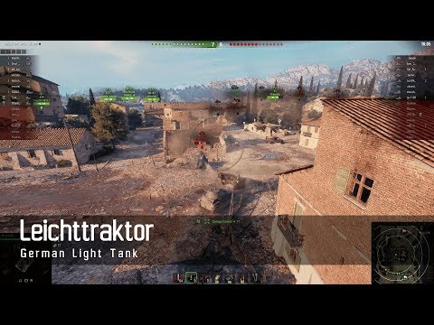 World of Tanks – German Tech Tree - Light tank – Leichttraktor – Abbey