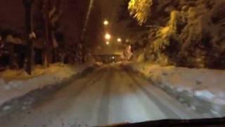 preview picture of video 'Cesena. Nevicata del 3 febbraio 2012.'