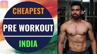 Cheapest Pre Workout In INDIA - No Supplement