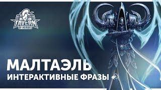 Малтаэль - Интерактивные Фразы | Heroes of the Storm