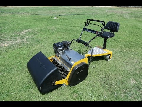 Lawncare Outfield 760 Rideon Cylinder Reel Blade Mower, Equivalent To Toro, Jacobsen