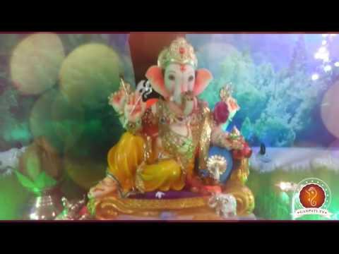 Kiran More Home Ganpati Decoration Video