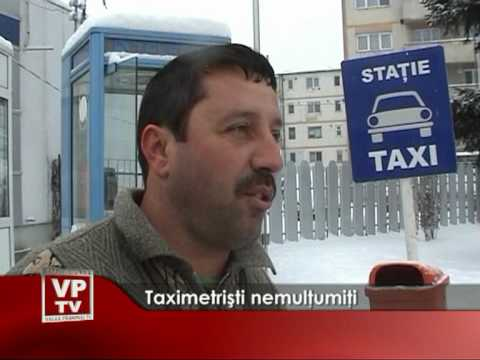 Taximetrişti nemulţumiţi