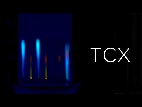 Тонкослойная хроматография. Разделение веществ.