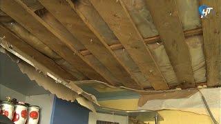 В Панковке рухнул потолок одной из квартир