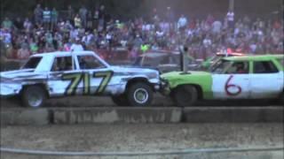 preview picture of video '2014 Suffolk Peanut Fest Demolition Derby HEAT #3'
