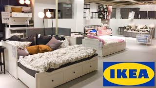 IKEA DAYBEDS LOFT BEDS BUNK BED BEDROOM FURNITURE HOME DECOR SHOP WITH ME SHOPPING STORE WALKTHROUGH