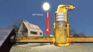 """Воздухоотводчик неблок. Spirotop  """" t=180°С 10bar Solar от компании Производственная компания «АНДИ Групп» - видео"""