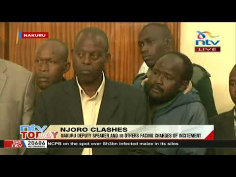 Nakuru Dp Speaker Daniel Tonui faces charges in court over incitement