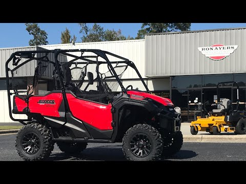 2021 Honda Pioneer 1000-5 Deluxe in Greenville, North Carolina - Video 1