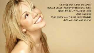 Mariah Carey - My Saving Grace (karaoke/instrumental + Backing Vocals)
