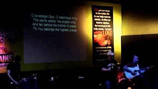 Praise the Father, Praise the Son - Chris Tomlin cover 6-12-11