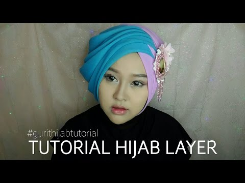 Video Tutorial Hijab Layer | Gurit Mustika