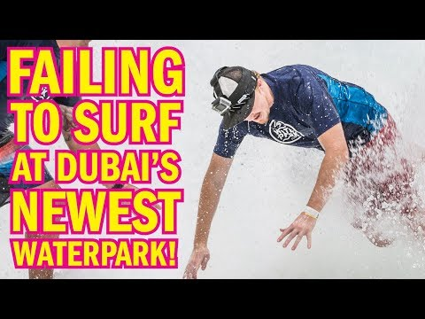 Epic Surfing FAIL At Dubai's Newest Waterpark! Mp3