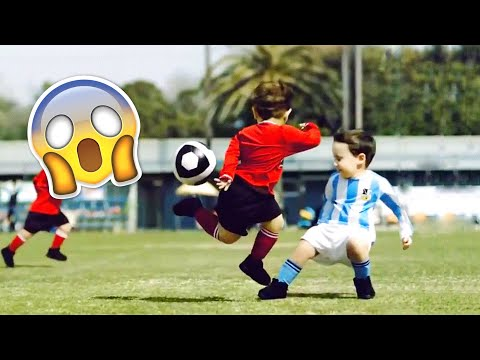 KIDS IN FOOTBALL – FAILS SKILLS & GOALS #2