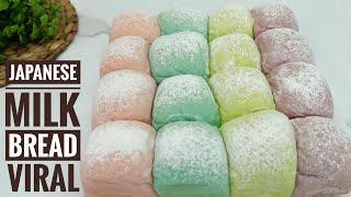 JAPANESE MILK BREAD Roti Kasur Jepang Sangat Lembut Tanpa Telur Pake Oven Tangkring