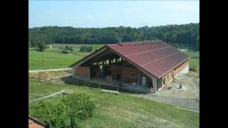 Gradnja hleva 2012-nowa obora