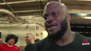 Fight Night Halifax: Derrick Lewis Backstage Interview
