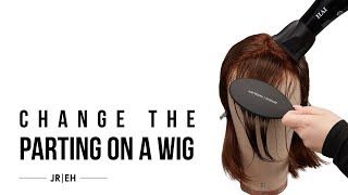 HOW-TO: Change the parting on wigs & toppers