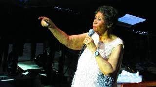 Aretha Franklin - Rolling In The Deep/Ain't No Mountain High Enough - 3/23/17 - Mohegan Sun Arena