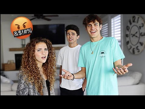 ARGUING IN FRONT OF OUR FRIENDS *prank*