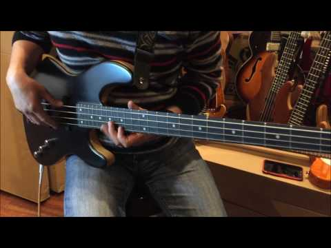 Wolf JB4 Black Ebony Fingerboard Demo