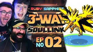 WORST POKEMON PLAYERS? • Pokémon Ruby & Sapphire 3-Way Soul Link • 02