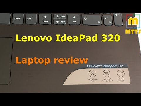 Lenovo IdeaPad 320 Video #1