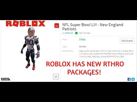 NEW FREE! Rthro Packages! Get Them QUICK! - смотреть онлайн на Hah Life