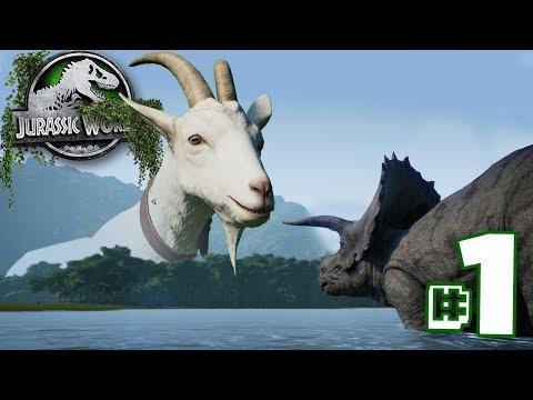 Welcome to Goat Park! | The Dinosaur Preserve - Part 1 | Jurassic World Evolution