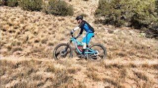A few sections of singletrack in Placitas