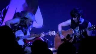 """The Dollyrots """"Twist Me to the Left"""" LIVE acoustic June 28, 2013 (5/7) HD"""