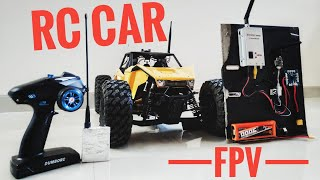 My Long Range Rc Car FPV Setup with 1.2ghz Video and 433mhz Radio System