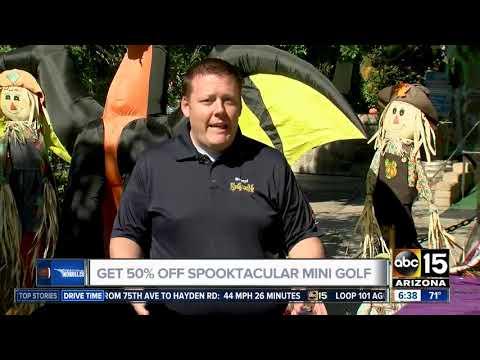 Smart Shopper deal for Spooktacular mini golf at Golfland Sunsplash!