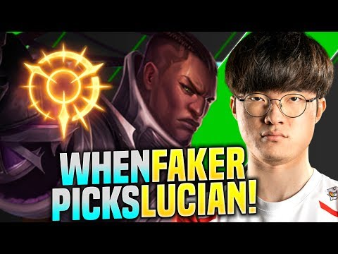 FAKER IS SO GOOD WITH LUCIAN! - SKT T1 Faker Plays Lucian vs Zoe Mid | S10 KR SoloQ Gameplay