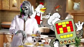 Cheap Cheap Chicken Guest Stars On Cooking With A Killer Robot (#HighQualityVideoGameRIP)