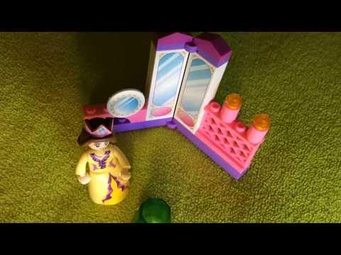 Lego совместимый конструктор Sluban, розовая мечта, Принцесса в зеркальной комнате, B0237