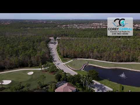 Cedar Hammock Golf & Country Club Naples FL 360 aerial Real Estate Homes & Condos